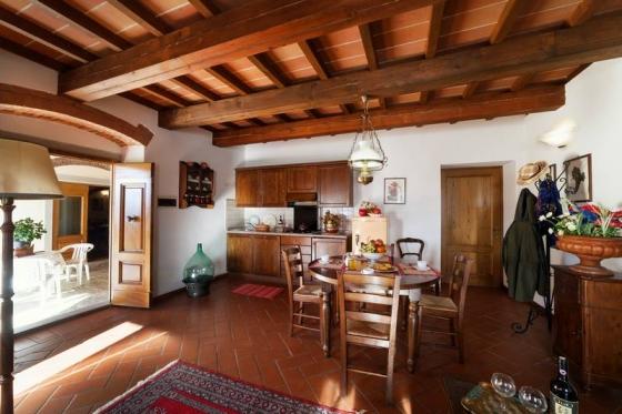 Appartement Leccio (4 tot 6 pers), een van onze vakantiehuizen in Toscane