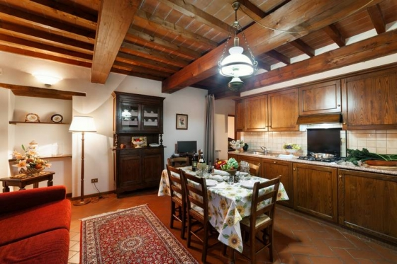 Appartement Ciliegio (4 tot 6 pers), een van onze vakantiehuizen in Toscane