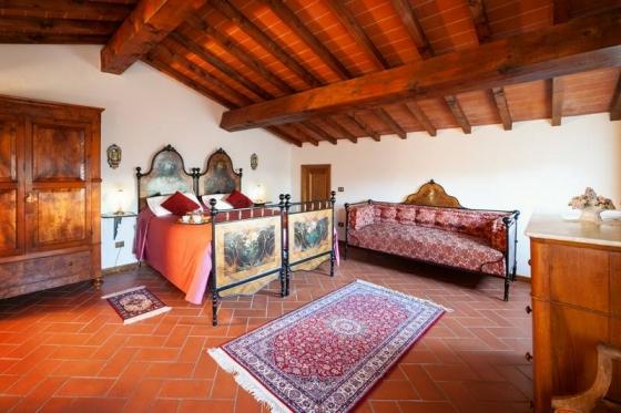Appartement Quercia (4 tot 6 pers), een van onze vakantiehuizen in Toscane