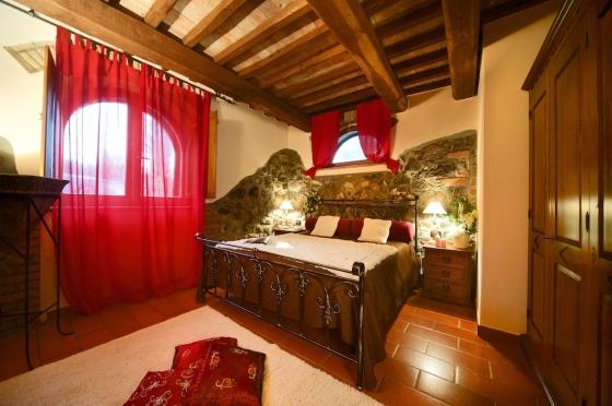 Appartement 1 (2-3 pers.), een van onze vakantiehuizen in Toscane