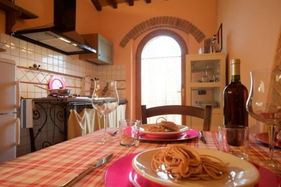 Appartement 3 (2-3 pers.), een van onze vakantiehuizen in Toscane