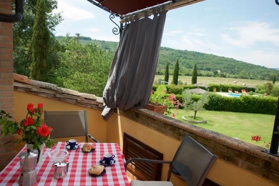 Appartement 3-THESAN (2-3 pers.), een van onze vakantiehuizen in Toscane