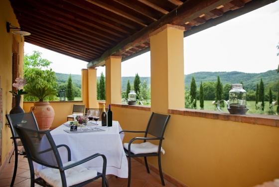 Appartement 6 (2-3 pers.), een van onze vakantiehuizen in Toscane