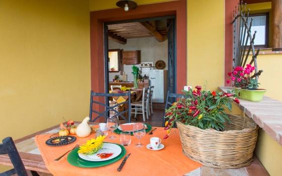 Fragola, een van onze vakantiehuizen in Toscane