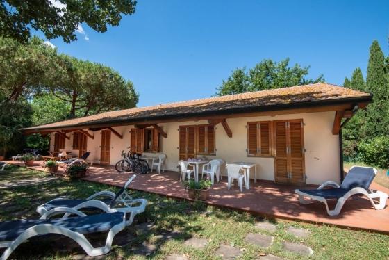 Sala, een van onze vakantiehuizen in Toscane