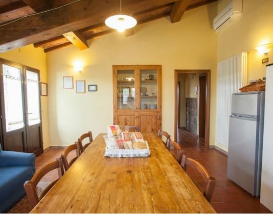 Rosmarino (6+1 pers.), een van onze vakantiehuizen in Toscane