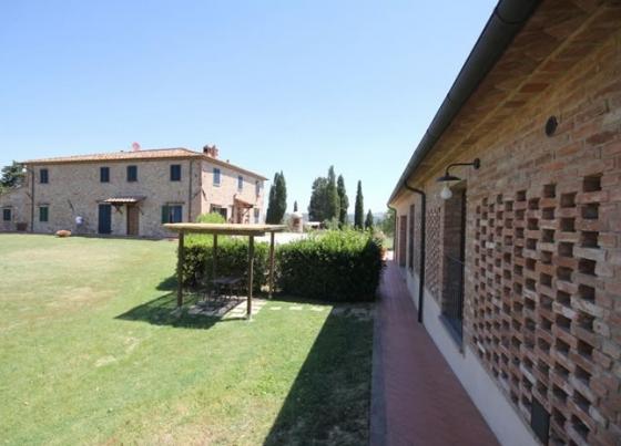 Papavero (2+1 kind), een van onze vakantiehuizen in Toscane