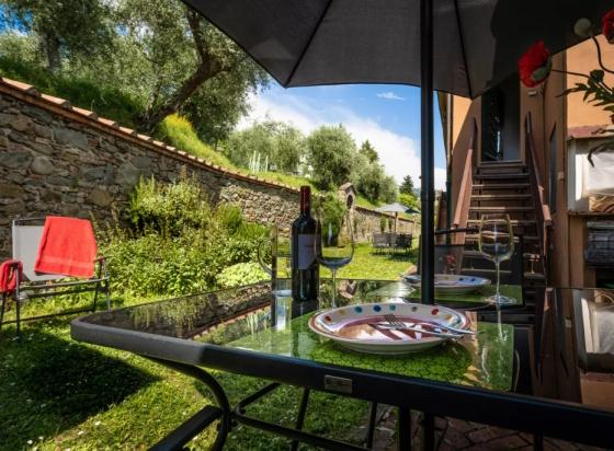 Mansarda Romantica (4 pers.), een van onze vakantiehuizen in Toscane