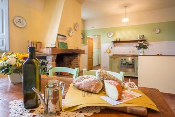 Acquaio, een van onze vakantiehuizen in Toscane