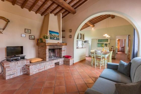 Archi, een van onze vakantiehuizen in Toscane