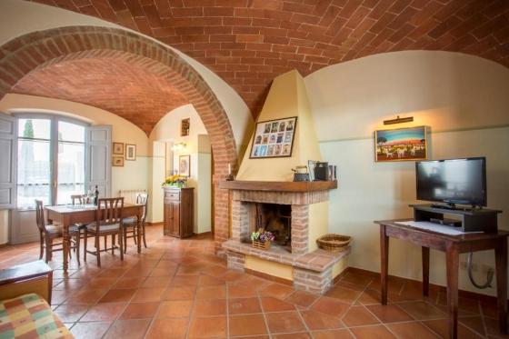 Volte, een van onze vakantiehuizen in Toscane